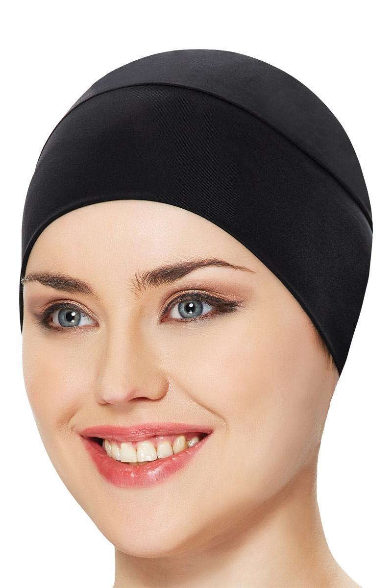 B001 BASIC zwart zwemkapje